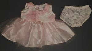 Newborn 2piece dress (pink, light pink, white) for Sale in Kaneohe, HI