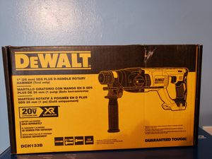 New DEWALT 20-Volt MAX XR Lithium-Ion Cordless 1 in. SDS-Plus Brushless D-Handle Concrete & Masonry Rotary Hammer (Tool-Only) for Sale in East Point, GA