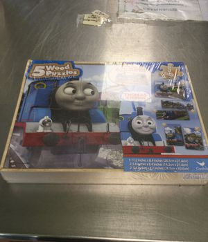 Thomas&friends 5 Wood Puzzles for Sale in Matawan, NJ