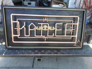 Custom hand-built copper signs for Sale in Fresno, CA