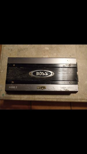 Boss iq 1360 watts x2 channels for Sale in Humble, TX