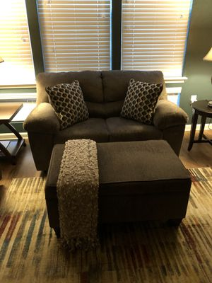 Seating area / Queen Bed set ( not mattress ) for Sale in Greenville, SC