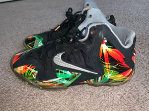 """Lebron 11 """"Everglades"""" Size 7y for Sale in Annandale, VA"""