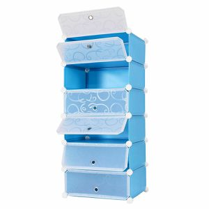 Portable Shoe Rack Shelf Cabinet Storage Closet Organizer 6 Cubic for Sale in Arlington, TX