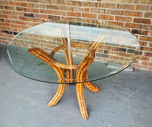 High quality bamboo boho table for Sale in Fort Lauderdale, FL