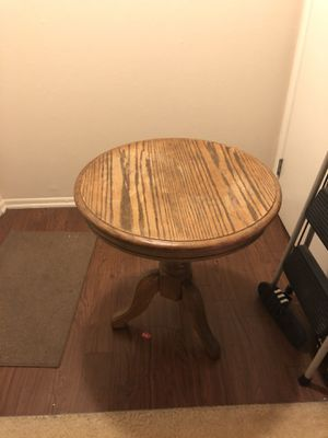 Round wooden table for Sale in Santa Ana, CA