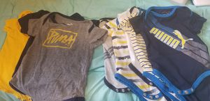 Lightly used, good condition Puma onesies. 3 6-9months 4 3-6 months for Sale in Capitol Heights, MD