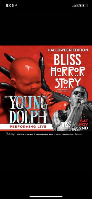 Young Dolph Live Halloween Weekend for Sale in Washington, DC