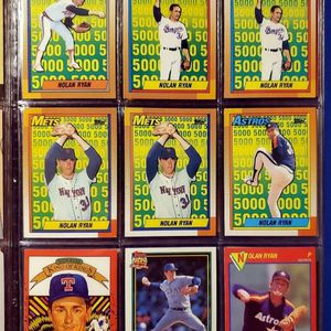 ☆ NOLAN RYAN BASEBALL CARDS ☆ for Sale in Columbus, OH