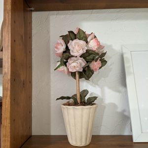 Fake Potted Plant With Flowers for Sale in Los Altos, CA