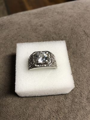 Cz silver ring for Sale in Keizer, OR
