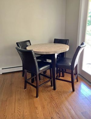 Pub table, coffee table and 2 end table for Sale in Boston, MA