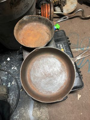 Cast iron pans for Sale in Modesto, CA