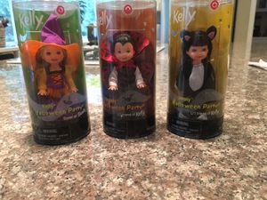 Halloween Barbies-Set of 3 for Sale in Woodinville, WA