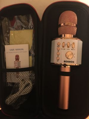 Microphone / karaoke/ Bluetooth speaker for Sale in Philadelphia, PA
