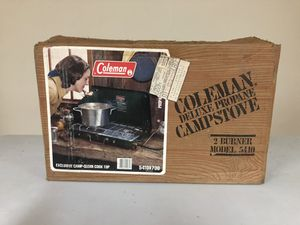Coleman two burner campers stove for Sale in Lombard, IL