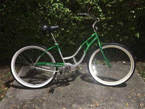 "Rare Vintage Schwinn 26"" Panther Cruiser- Silver/Green $120 MIAMI for Sale in Miami, FL"