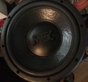 """MTX Black Gold Thunder 7000 Subwoofer 12"""" Two Available Rare for Sale in Norton, OH"""