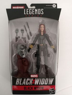 Marvel Legends Black Widow Collectible Action Figure Toy with Crimson Dynamo Build a Figure Piece for Sale in Chicago, IL