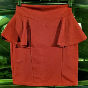 Red A-Line Pencil Skirt for Sale in San Diego, CA
