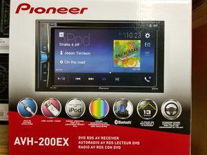 Pioneer Multimedia Bluetooth DVD Receiver radio NEW MODEL *PRICR FIRM* for Sale in Dallas, TX