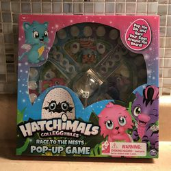 HATCHIMALS Pop-Up Board Game, Race to the Nests for Sale in Lorain,  OH