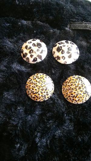 2 pairs of Animal Print pierce earings for Sale in Soledad, CA