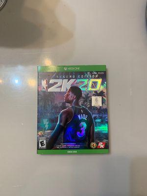 2k20 legend edition Xbox one new for Sale in Miami, FL