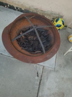 Fire pit with firewood bundle for Sale in Whittier, CA