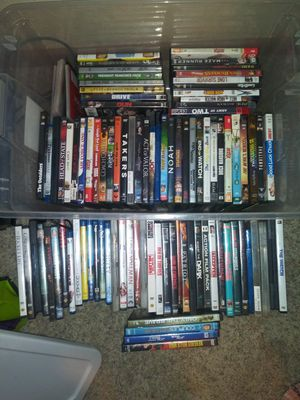 Over 70 movies. 40 for all or 2 a piece for Sale in Sigourney, IA