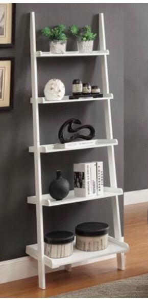 Brand New White ladder Bookcase (have 2) each for Sale in Fort Worth, TX