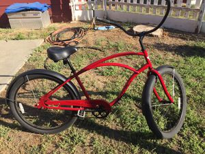 Electra cruiser brand new paid 300$ plus. Rode the bike 5 times excellent condition with receipts bought locally from Sports LTD 200$ OBO for Sale in Chico, CA