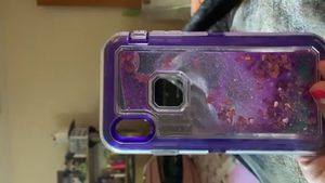 I phone xs max iPhone Xs Max Case,Heavy Duty Liquid Bling Quicksand Glitter case for Sale in Lake Wales, FL