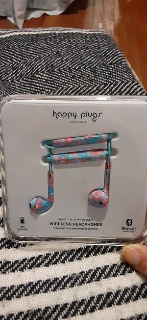 HAPPY PLUGS WIRELESS EARBUDS for Sale in Redlands, CA