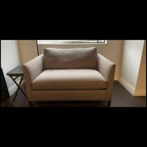 Crate And Barrel Lounge Sofa And Chair And A Half for Sale in Costa Mesa, CA