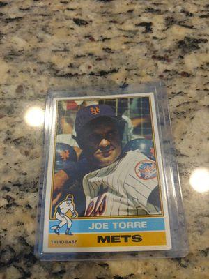 1976 Topps Joe Torre Baseball Card for Sale in Land O' Lakes, FL