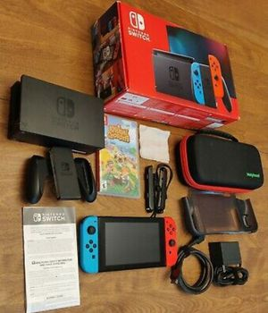 Nintendo Switch 32GB Neon Red/Neon Blue Console for Sale in Miami, FL