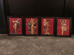 Sailor jerry art/frames/decoration for Sale in Burien, WA
