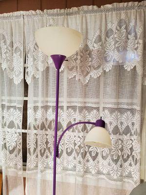 Purple stem lamp for Sale in Phoenix, AZ