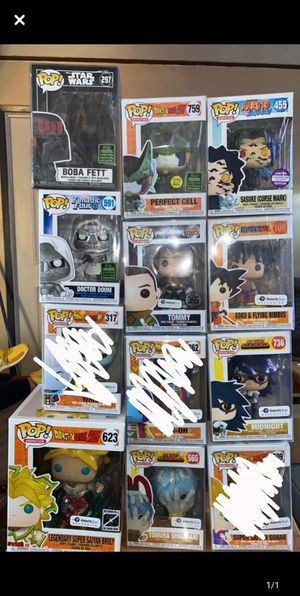 Funko Pop Figures for Sale in Paramount, CA
