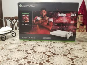 Brand new xbox one x for Sale in Easton, PA