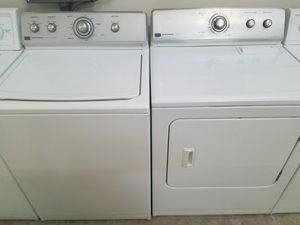 MAYTAG WASHER AND ELECTRIC DRYER SET for Sale in Modesto, CA