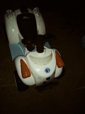 disney frozen olaf 6 V toddler quad for Sale in Inglewood, CA