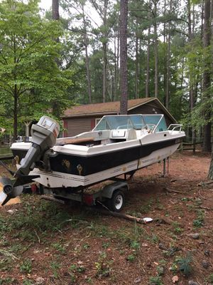 Boat and trailer for Sale in Durham, NC