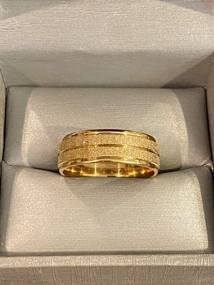 Unisex 18K Gold plated Ring- Code A61 for Sale in Seattle, WA