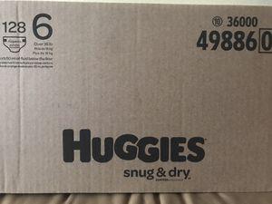 Huggies Diaper size 6 for Sale in San Jose, CA