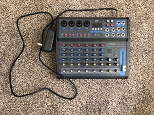 Pyle Pro PMXU83BT Compact 8-Channel, Bluetooth-Enabled Audio Mixer for Sale in Lincoln, CA