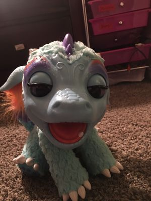 """My furreal friends """"my blazin dragon"""" was only used one time. Works perfect add water its mouth blows team and roast the marshmallows. We still have for Sale in Manvel, TX"""