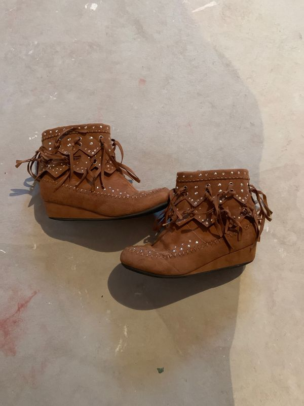 Justice boots for girls