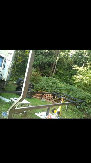 heavy duty commercial cargo/utility ladder/lumber full size truck rack for Sale in Sumner, WA